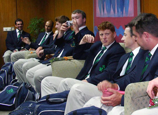 Ireland arrives for a 3-match ODI series � Bangladesher Khela