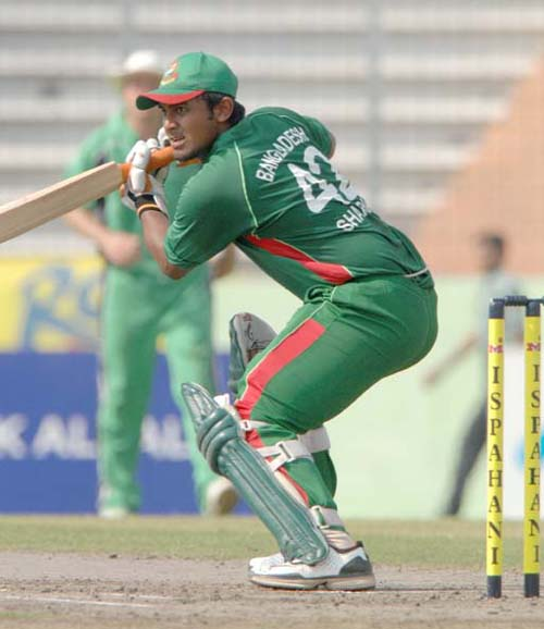 Shahriar Nafees top scores with 90 not out, as Bangladesh defeats Ireland, 1st ODI, Mirpur � TigerCricket