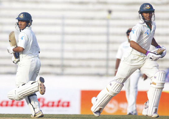 Ashraful and Shakib takes it to the fifth day. Bangladesh vs Sri Lanka. Test 1, Day 4.